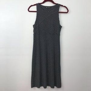 Athleta Santorini High Neck Striped Dress E901